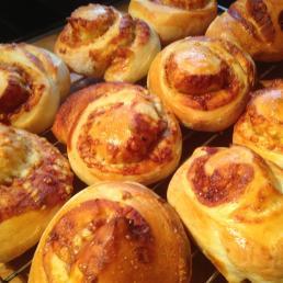 Cheese & Marmite rolls